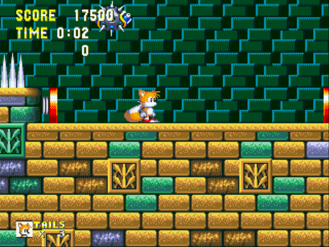 Sonic the Hedgehog 3 - PHEW... MADE IT TO HYDRO CITY. - User Screenshot